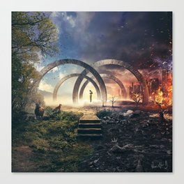 Path To Extinction Canvas Print