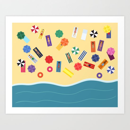 Beach Day by showalter