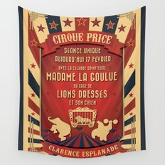 CIRQUE PRICE ROUGE Wall Tapestry