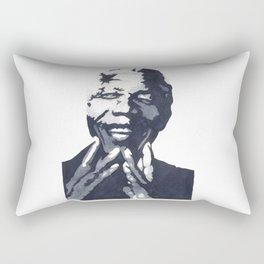 Nelson 'Madiba' Mandela Rectangular Pillow