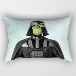 """Darth Vader in """"The Son of a Man"""" by Magritte Rectangular Pillow"""