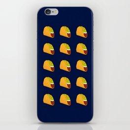 Pixel Taco iPhone Skin