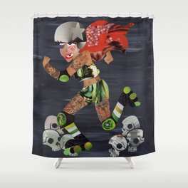 Derby Doll Shower Curtain
