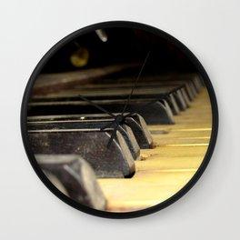 Player Piano Wall Clock
