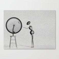 AntWoman & Duchamp's wheal Canvas Print
