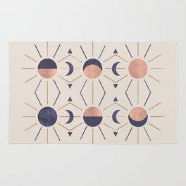 Moon and Light Rosè Version Rug