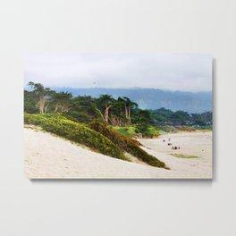 Carmel Beach Metal Print