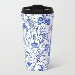 Arabian Nights // China Blue Travel Mug