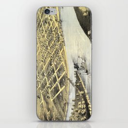 Wyandotte Co - Kansas City - Kansas -1869 iPhone Skin