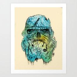 Storm Zombie Art Print