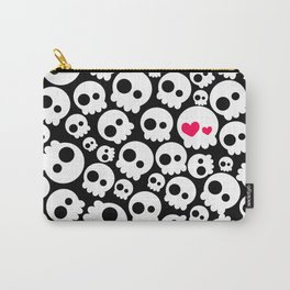 A skull in love Carry-All Pouch