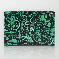 mermaids iPad Cases featuring Mermaids by hank