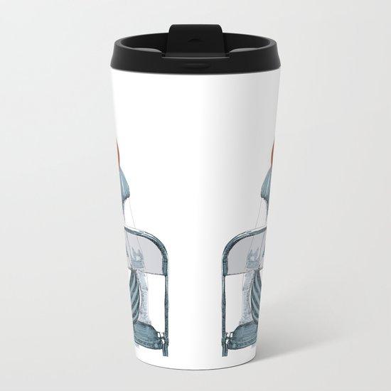 Ginger Metal Travel Mug