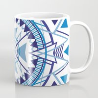 compass Mugs featuring Compass by Christie Evenson