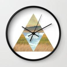 THREE EDGE PHYSICAL WORLD Wall Clock