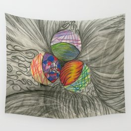 Draw What You Think Wall Tapestry