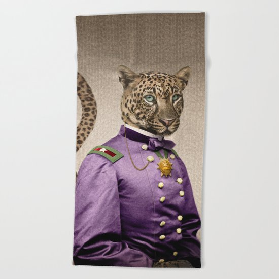 Grand Viceroy Leopold Leopard Beach Towel