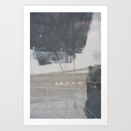Brooklyn Bridge Abstraction III Art Print