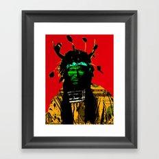 Indian Pop 20 Framed Art Print