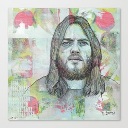 David Gilmour - Is There Anybody Out There Canvas Print