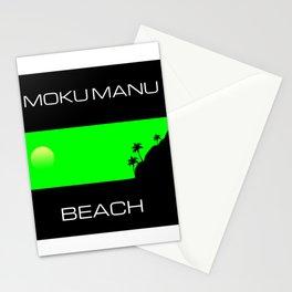 Moku Manu Beach Stationery Cards