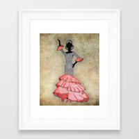 spain Framed Art Prints featuring Spain by Dany Delarbre