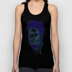 Tom Waits Portrait Unisex Tank Top