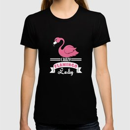 Catch this Cute, Pink & lovely ready to flamingle Flamingo lovers Tee For Ladies Crazy Flamingo Lady T-shirt