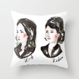 My Favorite Murder ssdgm LOOK-LISTEN Throw Pillow