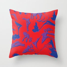 DRIPPY Throw Pillow