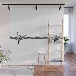 Barbed wire Wall Mural