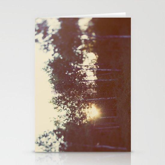 Silent Birch Stationery Cards
