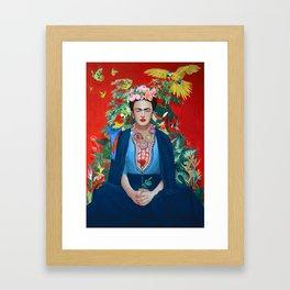 Saint Frida Framed Art Print