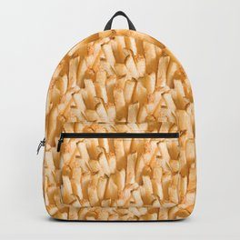 Fries Poring From Heaven Backpack
