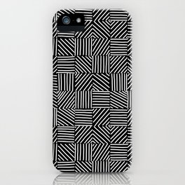 Sketching Abstraction iPhone Case