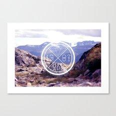 MOUNTAIN MNR Canvas Print
