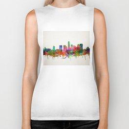 austin texas city skyline Biker Tank