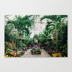 The Main Greenhouse Canvas Print