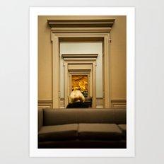 Paris, Texas, Museum Art Print