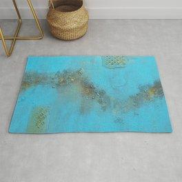 Earth. Texture. Blue. Jodilynpaintings. Brown. Abstract. Earths Crust. Rug