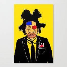 Jean Michelle Basquiat Canvas Print