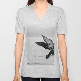 Waltzing Bird Unisex V-Neck