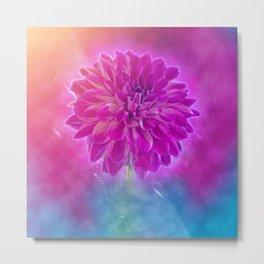 Image of the flower dahlia Metal Print
