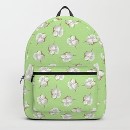 Cotton Blossom Toss in Key Lime Backpack
