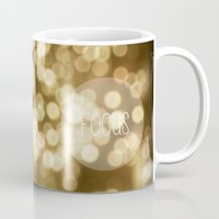focus Mugs featuring Focus by Dena Brender Photography