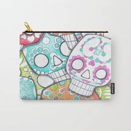 skulls sugar Carry-All Pouch