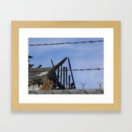 Burned - 1  Framed Art Print