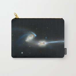 Colliding galaxies, Mice Galaxies, spiral galaxies in constellation Coma Berenices. Carry-All Pouch