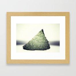 Solitude in Green Framed Art Print