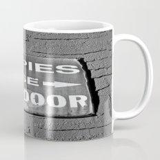 Hippies Use Side Door Mug